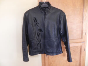 motorcycle jacket - ladies