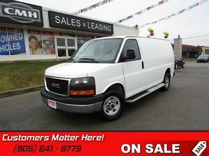 2015 GMC Savana Cargo Van   CAGE, RUNNING BOARDS, POWER-GROUP!