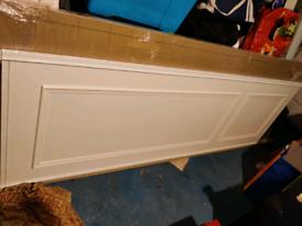 Full size sliding wardrobe doors x3