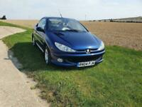 PEUGEOT 206 ALLURE COUPE CABRIOLET 2004 Petrol Manual in Blue