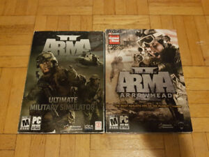 Arma 2 and Expansion Operation Arrowhead