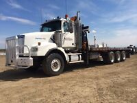 2007 Western Star Tridrive Tow Truck with picker