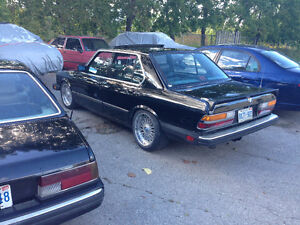 1986 BMW 5-Series Sedan Cambridge Kitchener Area image 1