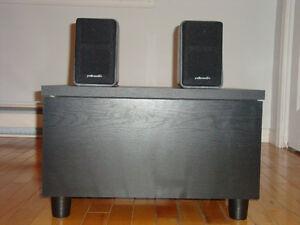 Subwoofer et speakers Polk audio