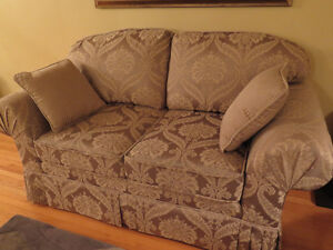 Traditional - Formal Sofa and Loveseat