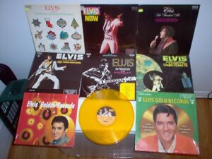 ** COLLECTION ELVIS -  albums / disques vinyles - Vinyl records
