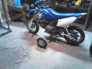 ***** 2007 YAMAHA TTR-50, PERFECT STARTER BIKE, WILL TRADE *****