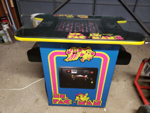 Ma. Pacman cocktail arcade game. Ms. Pacman.. 60 games in total.