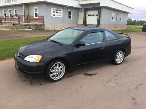 2001 Honda Civic Coupe (2 door)