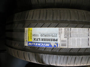 4 new michelin p275/60r20 all 4 tires $1079.00
