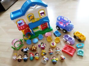 Fisher Price Little People maison / house