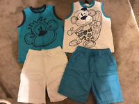 Boys monkey outfits 4-5 years from next