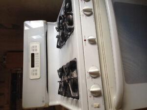 For sale stove, fridge, dishwasher