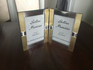 Double Standing Picture Frame