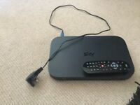 Sky Q box and remote
