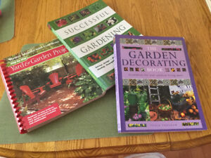 Gardening  and outdoor project  books
