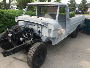 1971 Ford F-250 camper special project