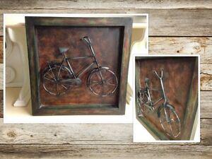 Cadre Métal bicyclette belle perspective #442