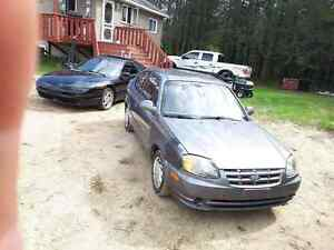2004 hyundai accent auto 126000km plated quebec ,,,swap or trade