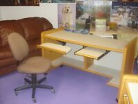 drawing desk with cahir