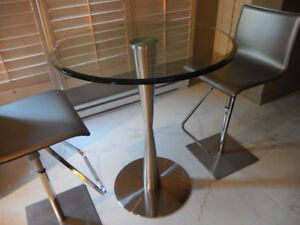 Table de bar NEUVE haut de gamme Maison Corbeil