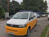 2011 61 plate Volkswagen Transporter T5.1 2.0TDi 102 bhp LWB T32 Twin slider