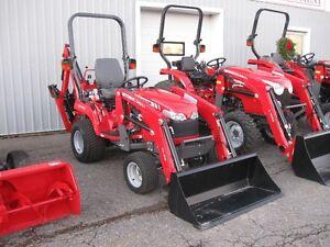 Massey Ferguson 23hp Tractor Loader Backhoe