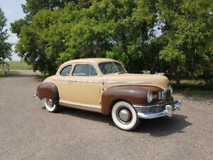 1947 Nash 600 Brougham Coupe