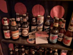 Pleins de vieilles bouteilles à vendre!