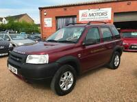 2002(52) Land Rover Freelander 2.0 TD4 auto GS Red, **ANY PX WELCOME**