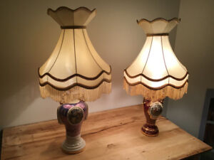 Antique Lamps & Shades