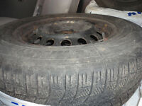 MICHELINS 4 TIRES 215-65-16 WITH RIM GOOD TREAD $500.00 CALL 647