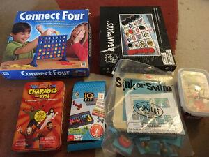 Variety of children's games