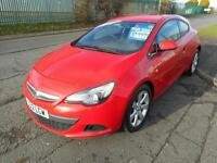 VAUXHALL ASTRA GTC 3 DOOR MANUAL DIESEL