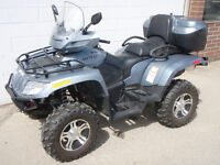 2009 Legal Two Seat ATV with 280 kms.