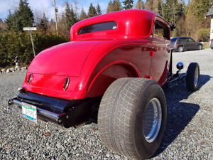 1932 Ford Steel 3-window Coupe