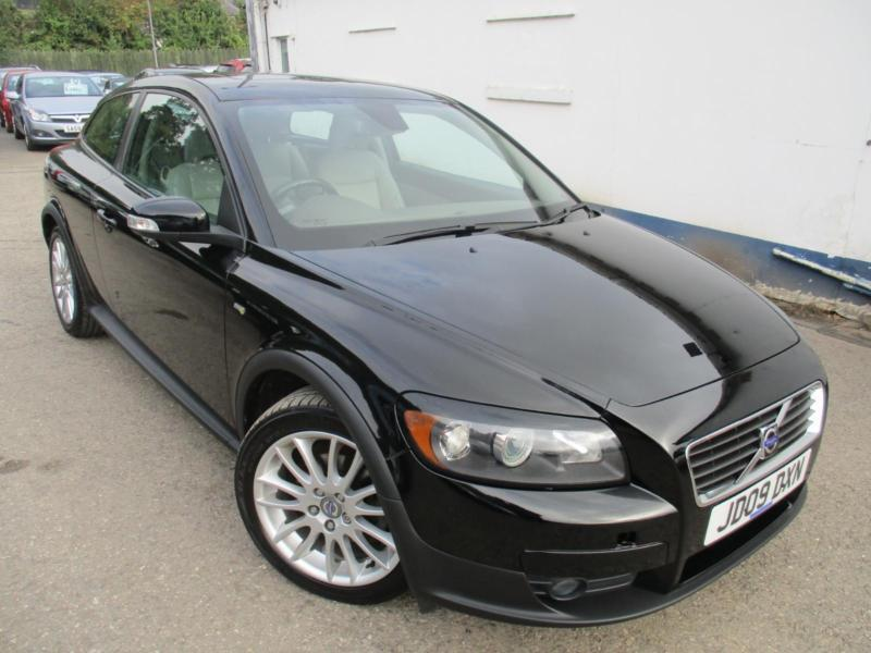 2009 VOLVO C30 D DRIVE SE LEATHER , FACTORY ELECTRIC SUNROOF . HATCHBACK DIESEL