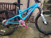GT Distortion 3.0 Downhill Mountain Bike
