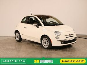 2014 Fiat 500 LOUNGE AUTO A/C CUIR TOIT MAGS