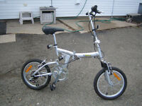 Folding Bike,( Ideal for camping )
