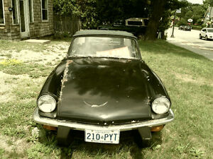 Selling 1976 TRIUMPH SPITFIRE