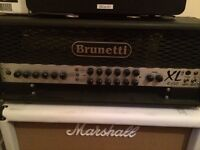 Brunetti 150 watt hand built amp head - needs gone asap