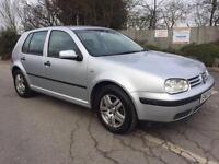 Volkswagen Golf 1.6 2003 Manual Petrol- Low Mileage-Full Servc History