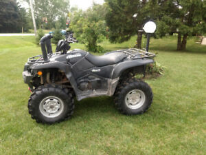 2015 SUZUKI KING QUAD 500 AXI , POWER STEERING