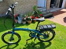 Halfords Electric folding bike