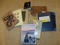 *reserved until 30.3.* notebooks and greeting cards