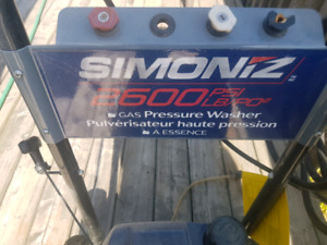 4- sale pressure washer