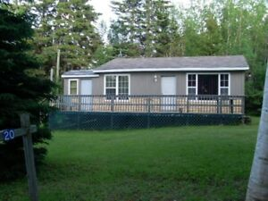 2 BEDROOM COTTAGE RENTAL IN CAISSIE CAPE, NB