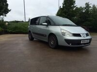 Renault Espace diesel automatic 7 seater