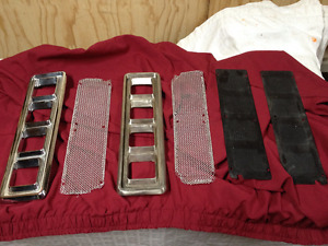 **REDUCED**1968/69 OEM Chevrolet Camaro left/right Hood Louvers,